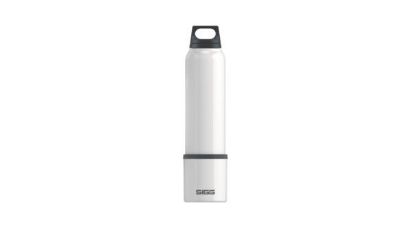 Thermo Flask Hot & Cold White 1l